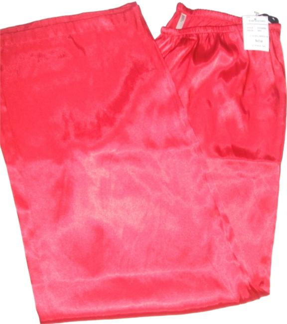 Expressions Relaxed Pants Red