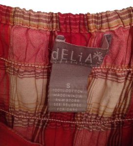 dELiA*s short dress Red Plaid on Tradesy