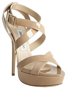 Jimmy Choo Nude Platforms