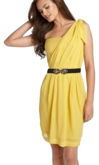 Preload https://item2.tradesy.com/images/bcbgmaxazria-yellow-above-knee-cocktail-dress-size-2-xs-3724426-0-0.jpg?width=400&height=650