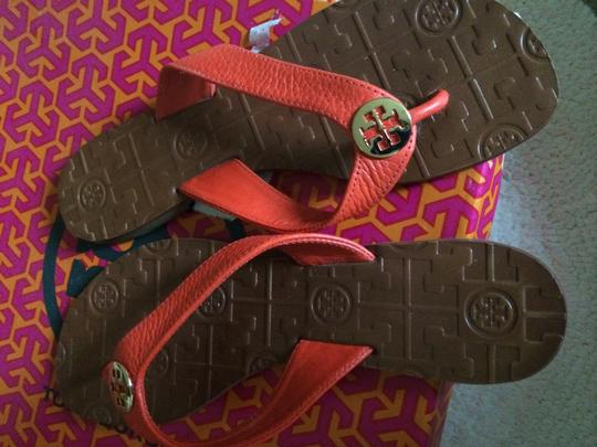 Tory Burch Thora Orange Flats