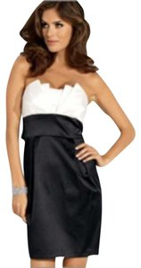 Teeze Me Strapless Two Tone Dress