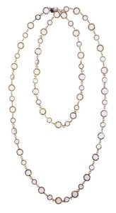 Chanel Vintage Chanel Pink Gripoix Sautior Necklace