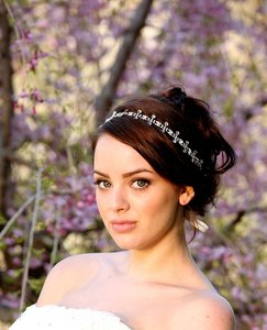 Bridal Headband Wedding Hair Accessories Art Deco Crystal Headpiece Vintage Inspired Oval And Teardrop Hair Bandeau