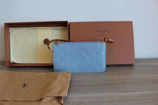 Louis Vuitton Blue/lavender Clutch