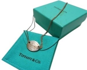 Preload https://item4.tradesy.com/images/tiffany-and-co-sterling-silver-925-oval-tag-necklace-37253-0-0.jpg?width=440&height=440