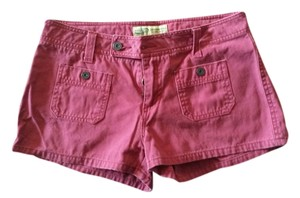 Weathervane Spring Summer Mini/Short Shorts Maroon