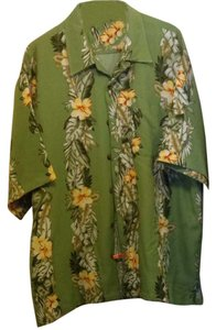 Maui Maui Button Down Shirt Green