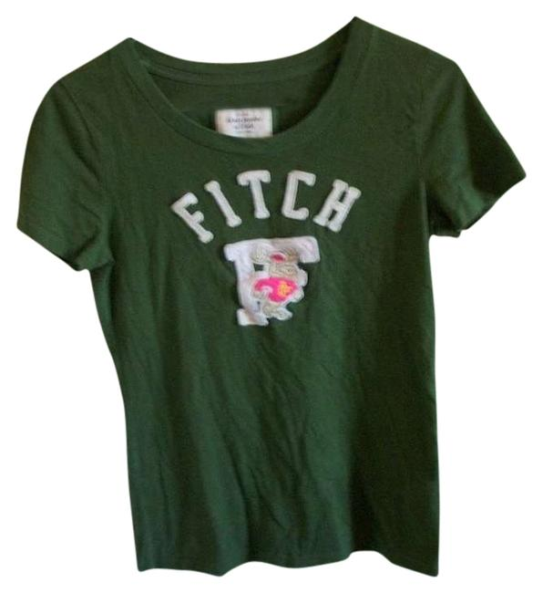 Preload https://item1.tradesy.com/images/abercrombie-and-fitch-green-distressed-tee-shirt-size-8-m-372575-0-0.jpg?width=400&height=650
