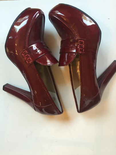 Me Too Black or Red Patent Leather Platforms