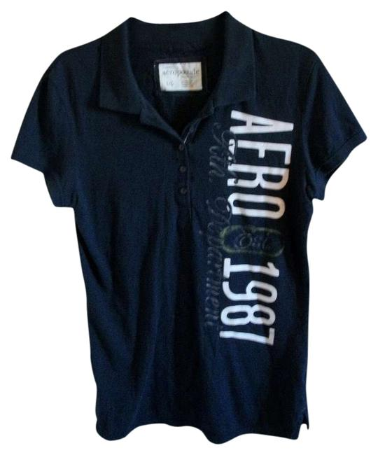 Preload https://item3.tradesy.com/images/aeropostale-blue-aero-polo-tee-shirt-size-12-l-372602-0-0.jpg?width=400&height=650