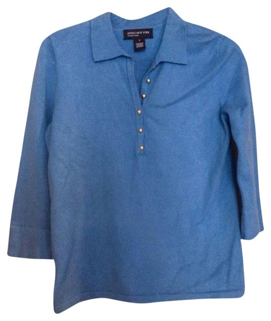 Jones New York Top Wedgwood Blue