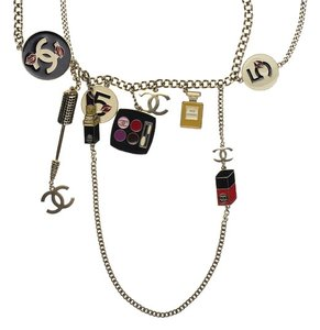 Chanel Chanel Enamel Makeup Necklace