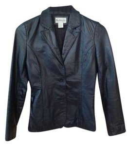 Rubbish Leather Leather Jacket