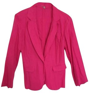 Charlotte Russe Jacket Top Pink