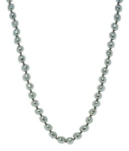Chanel Vintage Chanel Platinum Baroque Pearl Necklace