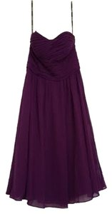 Donna Morgan Strapless A-line Dress