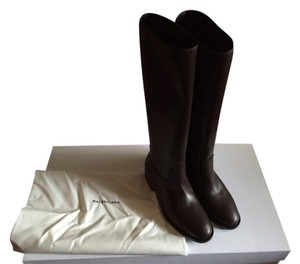 Balenciaga Dark Brown Boots