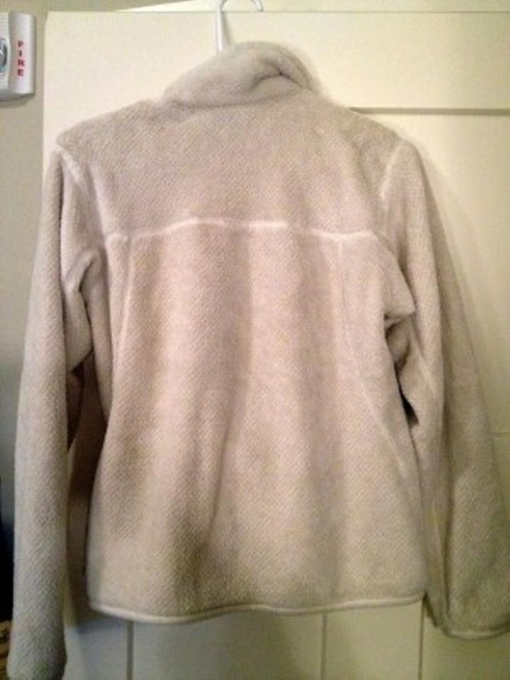 Patagonia Cream Pullover Fuzzy Winter Activewear Size 4 (S