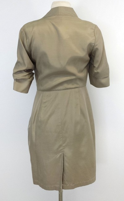 Ali Ro short dress Cotton Blend Cowl Neck on Tradesy