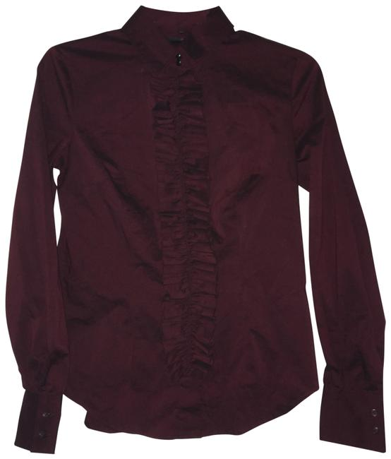 Preload https://img-static.tradesy.com/item/3727747/new-york-and-company-maroon-ruffle-front-shirt-button-down-top-size-2-xs-0-2-650-650.jpg