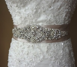 Wedding Sash Bridal Belt Rhinestone Sash Bridal Ribbon Sash Bridal Crystal Sash Bridal Accessories Bridal Belt