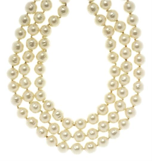 Chanel Chanel Multi-Strand Vintage Pearl Necklace