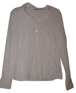 Apt. 9 Button Down Shirt White