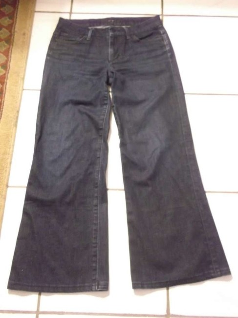 JOE'S Size 28 Pants Bottom Size S Trouser/Wide Leg Jeans-Dark Rinse
