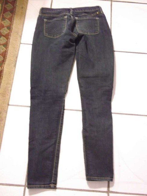 Lucky Brand Size 0/25 Straight Leg Jeans-Medium Wash