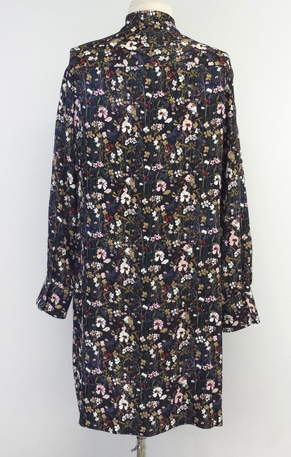 Mulberry short dress Floral Print Shirtdress on Tradesy