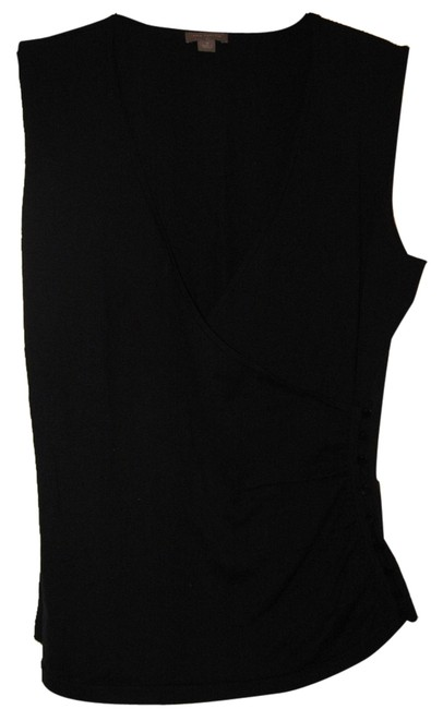 Ann Taylor Silk Blend Top black