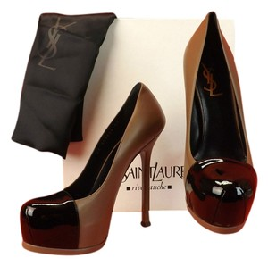 Saint Laurent Beige/Black Pumps
