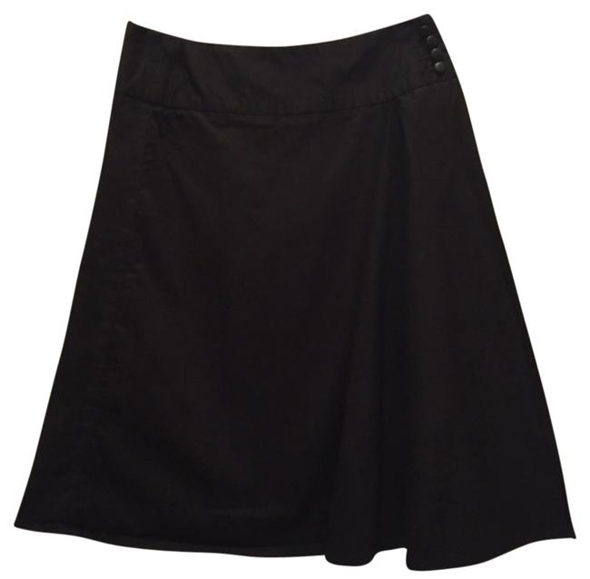 Anthropologie Wrap Skirt Black