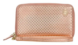 Tory Burch NWT TORY BURCH METALLIC COPPER GEO SMARTPHONE WALLET