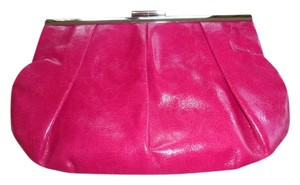 BCBGMAXAZRIA Patent Leather pink Clutch