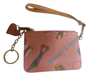 Dooney & Bourke Pink Wristlet in multiple colors