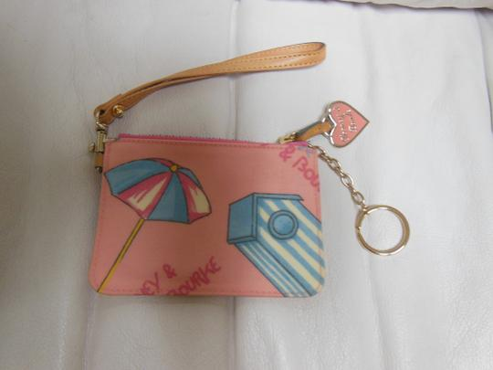 Dooney & Bourke Pink Beach Wristlet in multiple colors