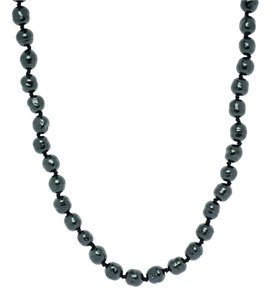 Chanel Vintage Chanel Blue Baroque Pearl Necklace