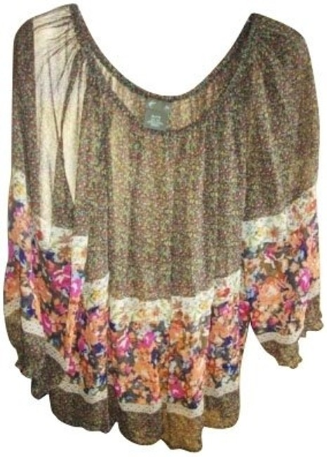Preload https://item4.tradesy.com/images/anthropologie-brown-blouse-size-8-m-373-0-0.jpg?width=400&height=650