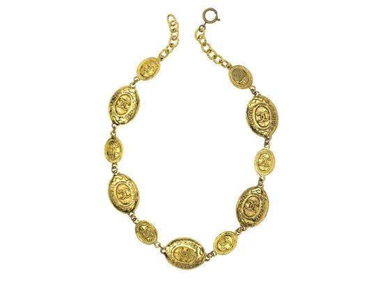 Chanel Vintage Chanel Gold Toned Necklace
