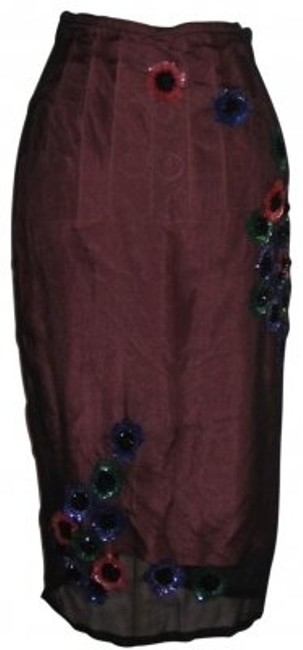 Preload https://item2.tradesy.com/images/tracy-reese-black-and-persimmon-orange-sexy-beaded-silk-pencil-midi-skirt-size-4-s-27-37306-0-0.jpg?width=400&height=650