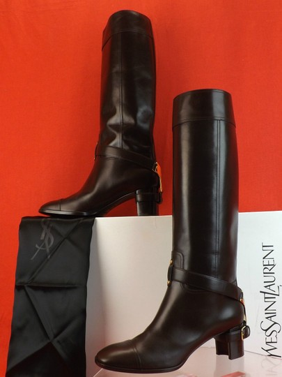 Saint Laurent Dark Brown Boots