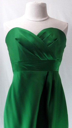 Alfred Angelo Shamrock Satin 7073 Casual Dress Size 6 (S)