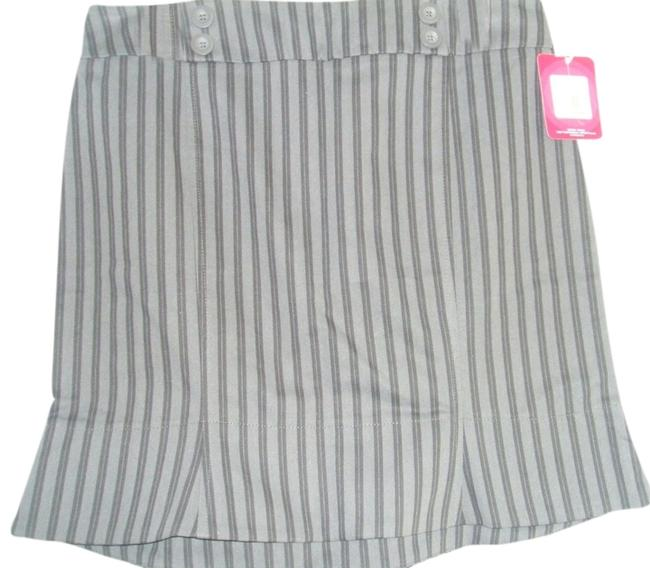 Xhilaration Mini Skirt Gray