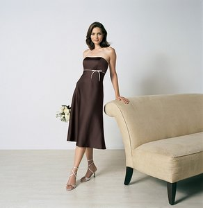 Alfred Angelo Chocolate / Ivory Style 6132 Dress