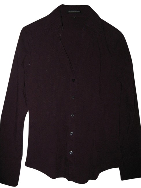 Preload https://item4.tradesy.com/images/express-maroon-shirt-button-down-top-size-4-s-3732013-0-0.jpg?width=400&height=650