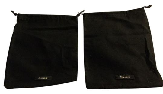 Miu Miu Lot Of 2 7x6 Miu Miu Dust Storage Bags
