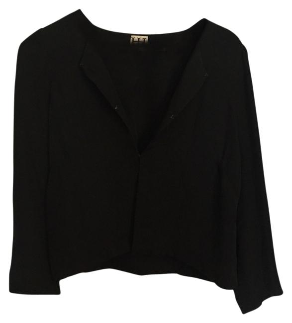 Preload https://item3.tradesy.com/images/haute-hippie-black-jacket-cropped-cardigan-size-4-s-3732277-0-0.jpg?width=400&height=650