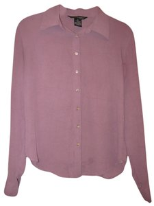 Jonathan Martin Button Down Shirt Purple